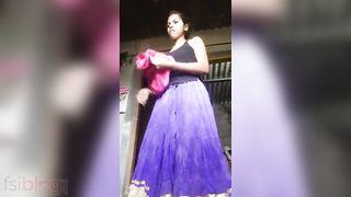 Dehati legal age teenager naked selfie clip worth watching