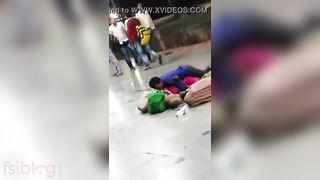 Desi pair public sex movie discharged by a voyeur