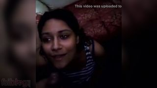 Youthful college angels Desi cum facial action on cam