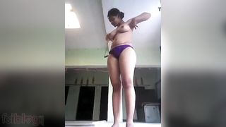 Busty in nature's garb neighbor girl in nature's garb MMS video