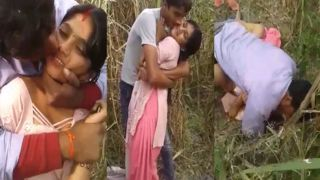Village Bhabhi outdoor sex episode shared online