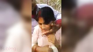 Village Bhabhi outdoor sex episode shared online