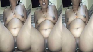 Plump Bengali riding cock POV Tamil sex movie scene