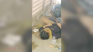 XXX MMS PORN LEAKED Desi Randi chudai in public place