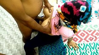 Indian Aunty Wasn't Expecting A Cock In Her Ass When Bent Over Doggy Style