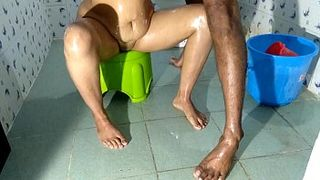 Sluty Indian House Wife Fucked By Devar In Bathroom XXX Sex
