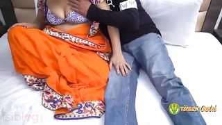 Hot and submissive indian aunty fucked hard by her lover