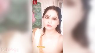Aabha Paul Nip Slip in Shower HD XXX Porn Star Video