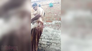 Indian porn video of an amateur girlfriend finger fucking her pussy on cam