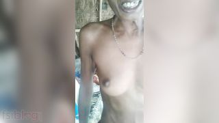 Mature Dehati Wife From Village Displaying Her Private Body Parts