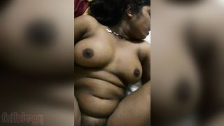 Indian sex! Big Tits Chubby Tamil Aunty Sex With Her Lover