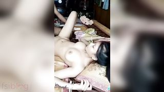 Indian sister fucked live on cam while brother film MMS video