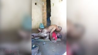 Indian Village sex - Couple Having Sex In The Barn