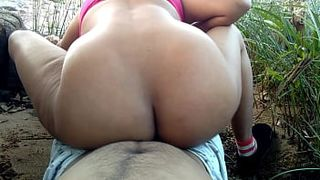 my first outdoor risky public painful rough sex with cousin sister