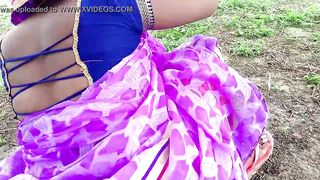 Indian Newly Married Couple Enjoy Sex Outdoor
