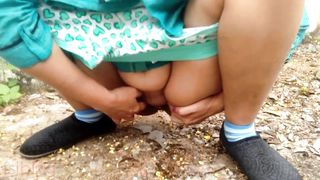 best outdoor public sex with stranger bhabhi fucked in wood