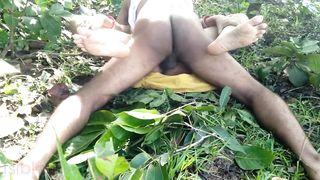 Risky Public Outdoor Sex With My Neighbor's Wife At Farmhouse
