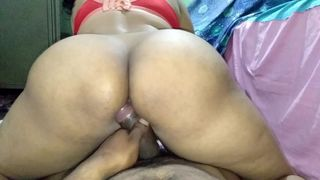 chubby big ass stepsister riding dick when no one is at home