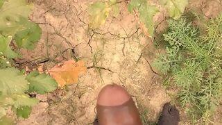 Desi village girl enjoys painful outdoor sex in amateur XXX video