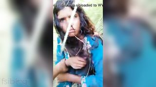 Desi porn outdoor sex mms clip going viral