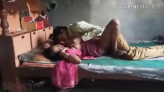 Village lovers home sex video