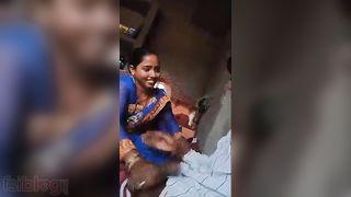 Dehati Bhabhi oral stimulation sex video