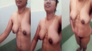 Delicious south sexy Indian undressed MMS