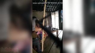 Village Bhabhi Doggystyle sex with her juvenile Devar