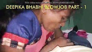 Bhabhi oral pleasure movie taken by her slutty Devar