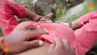 Village lovers outdoor sex with neighbour caught on livecam