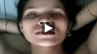 Bihari teen cutie getting nasty with her bf MMS episode