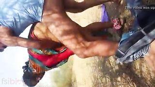 Twat fucking outdoors Dehati sex clip