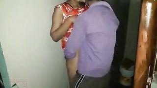 Desi night home sexIncest episode of hot bhabhi with concupiscent devar