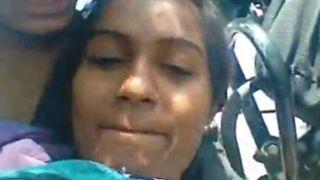 Desi girl boob sucking episode captured by her bf
