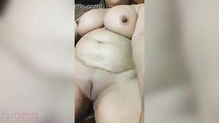 Big Boob Keralite aunty selfie video taken for her secret boyfriend