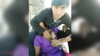 Desi hotty group sex outdoors with her allies movie scene