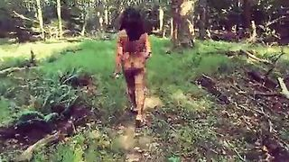 Amateur Desi Mirchi Bhabhi acquires wicked in the woods