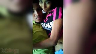 New Indian legal age teenager love melons squeezed pumped and sucked