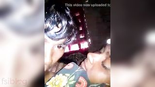 See this desi housewife boob engulfing by her stepbrother
