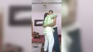 Bulky aunty Slender boy sex episode for aunty paramours