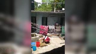 Voyeur sex video neighbour bhabhi washing pussy outdoors