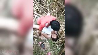 Outdoor sex video of Indian angel sex with her boyfriend