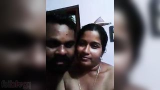 Bangla sex video of a breasty aunty with her hubbys ally