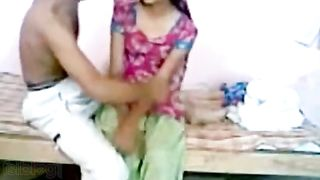 Desi village sex movie of a youthful couple having sex for the 1st time