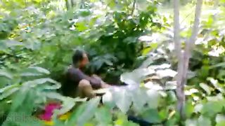 Odia sex video of uncle fucking wench in Orissa forest