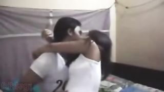 Bengali sex movie scenes of an dilettante pair enjoying a carnal sex session