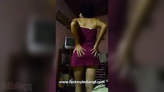 XXX porn video of a college girl stripping and showing off her hot body
