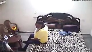 Punjabi uncle fucking floozy  Hidden web camera sex