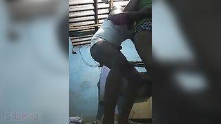 Desi sex video of village bhabhi fucking with hubby
