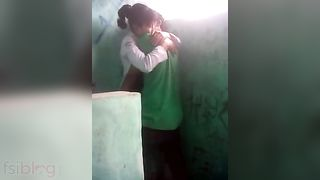 XXX Indian porn clip of north east female guard